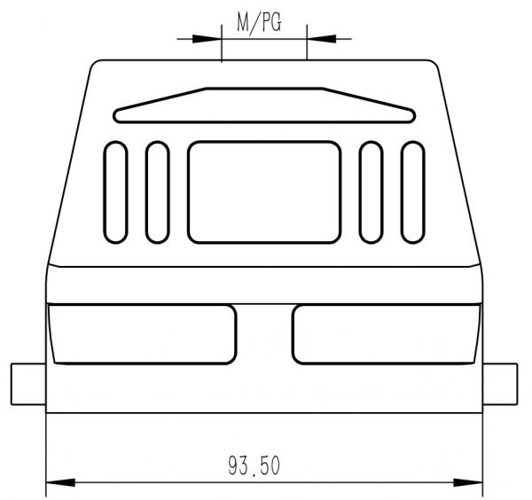 Conmate HD-16BTKH2B-M25